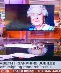 The Queen's Sapphire Jubilee