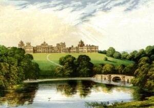 Engraving of Blenheim Palace