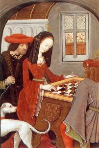 Marguerite de Navarre plays chess