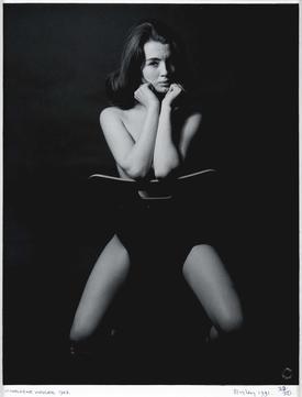 Lewis Morley's 1963 portrait of Keeler